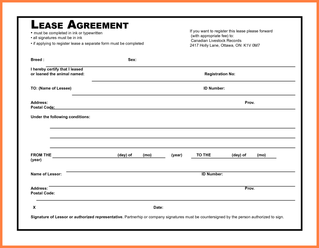 simple commercial lease agreement   Teacheng.us