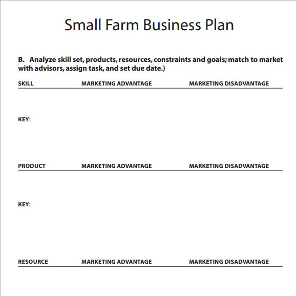 small business plan template free simple business plan template 14