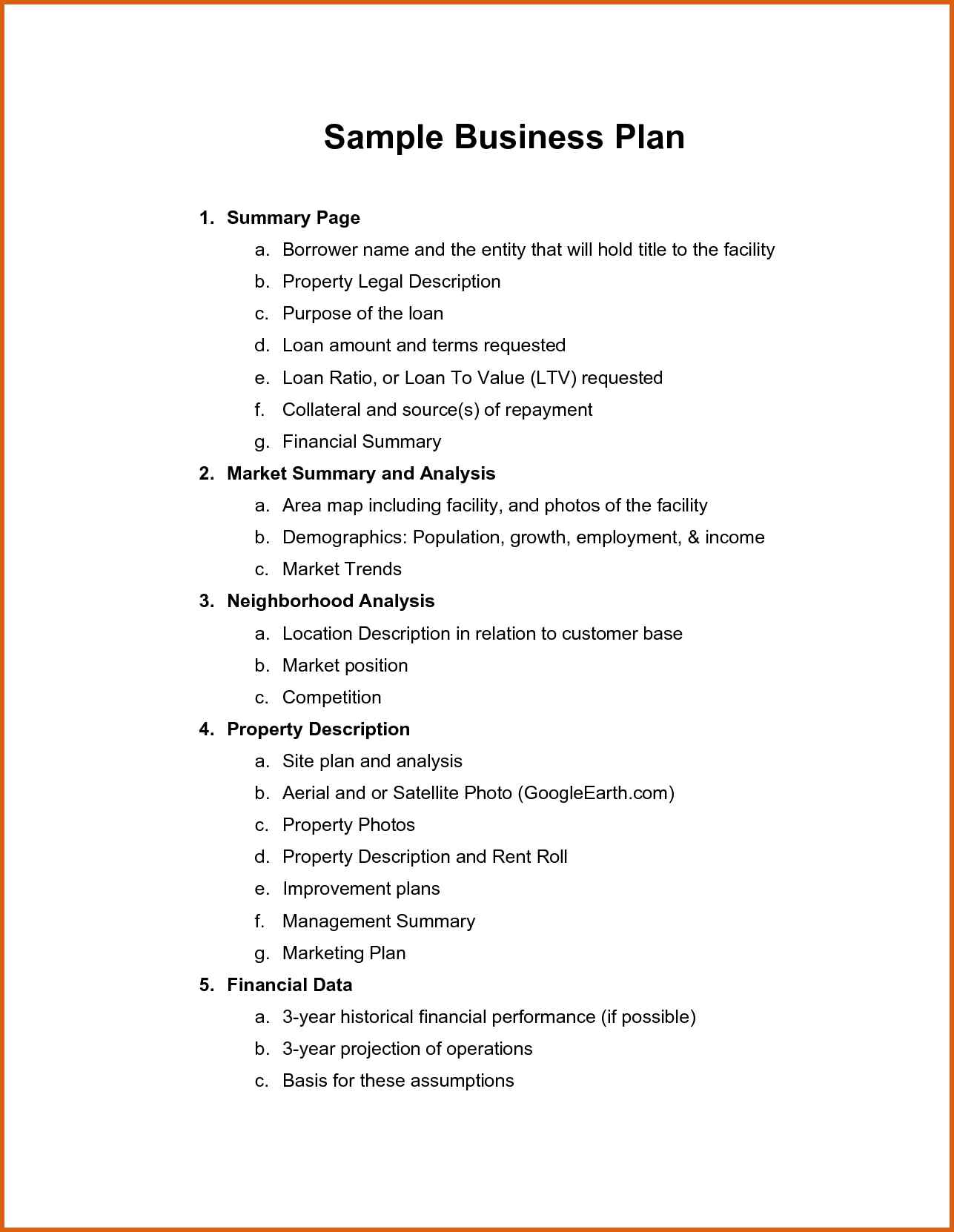 Strategic Business Plan Template | blank forms