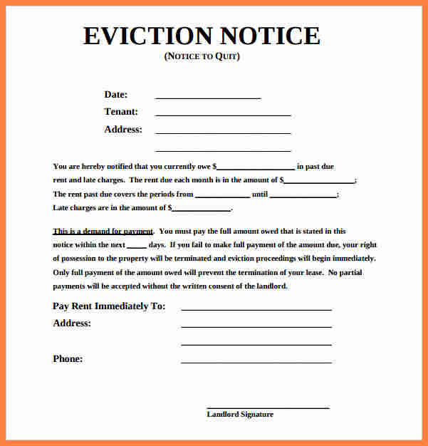 tenant eviction notice   Maggi.locustdesign.co