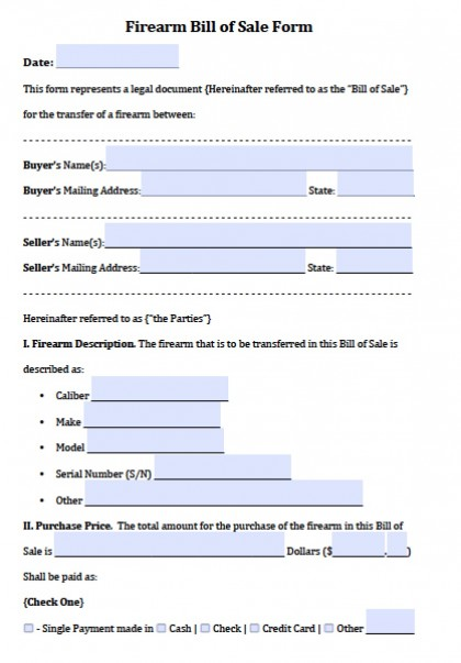 firearm bill of sale template   Maggi.locustdesign.co