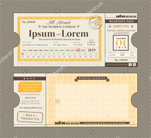 Train Ticket Template | beneficialholdings.info