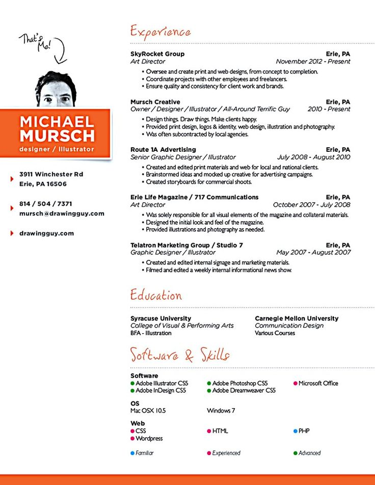 graphic web designer resumes   Mini.mfagency.co