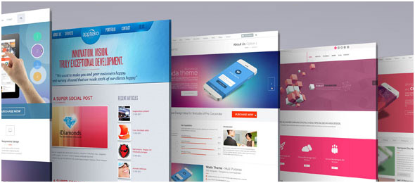 3D Web Page Presentation Mock Up V3 by towhid123griver | GraphicRiver