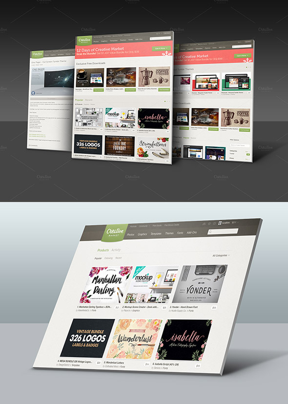 Why Not Use a Website Mockup to Display Your Work?   Lunar Templates