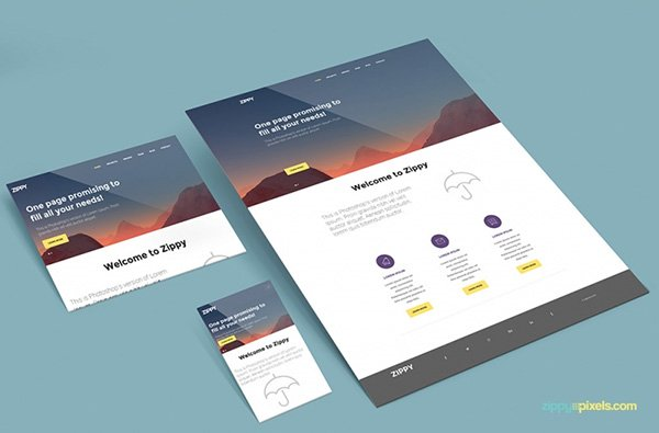 35+ Free Browser & Web Design Mockups