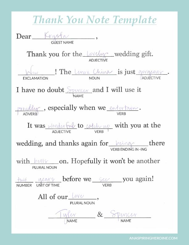 Writing personalized wedding thank you notes | Pinterest | Notes
