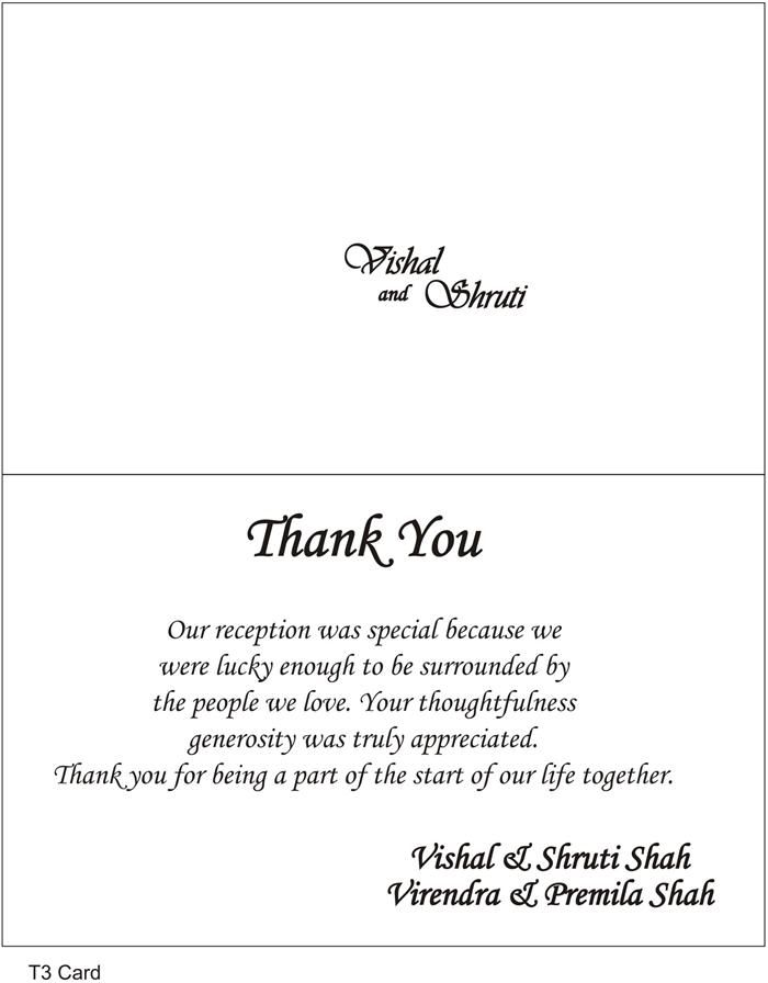 wedding thank you note examples   Maggi.locustdesign.co