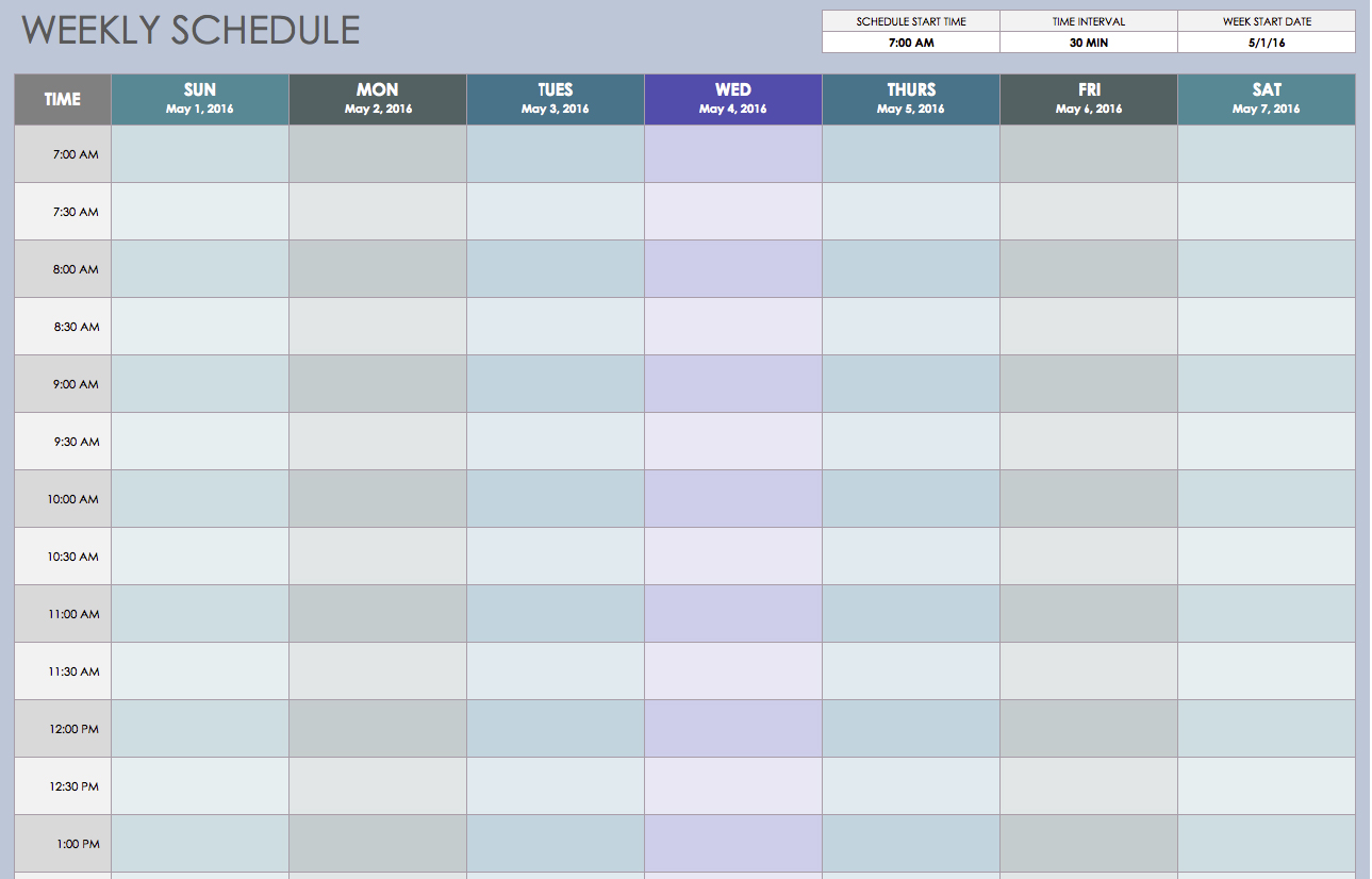 employee work schedule template | datariouruguay