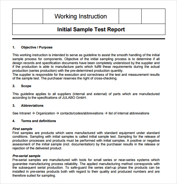 writing work instructions template   Maggi.locustdesign.co