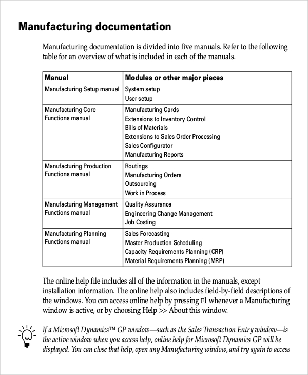 Working Instruction Template   6+ Free Word, PDF Document
